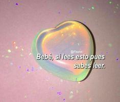 𝐀𝐞𝐬𝐭𝐡𝐞𝐭𝐢𝐜 ⸙[✨] ✓ - Memes y frases random Aesthetic Tumblr Quotes, New Quotes, Funny Quotes, Spanish Memes, Spanish Quotes, Romantic Memes, Cute Phrases, Cute Love Memes, Tumblr Love