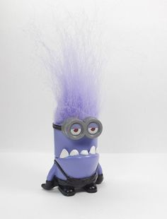 Despicable Me Minion Evil Noisemaker Toy Figure Cake Topper