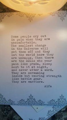 #poetry #alfa
