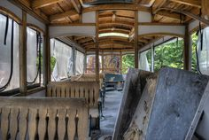 Abandoned Trolley Car