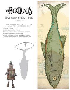 fish boxtrolls box - Google Search