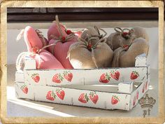- Atelier Shabby Chic di Paola Tedeschi-  crates, use & reuse