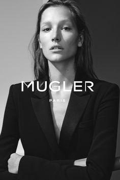 Josephine Le Tutour for Mugler 2015 Ad Campaign
