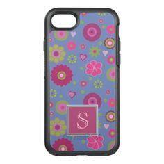 #flower - #Snazzy Flower Pattern OtterBox Symmetry iPhone 7 Case