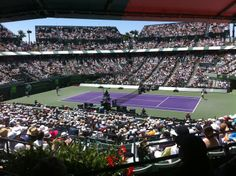 Home of the Sony Tennis Tournament.