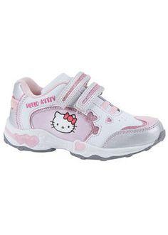 Hello Kitty!, Lasten vapaa-ajan kengät, koko  29. 20 € Tai muut lenkkarit tytölle. Voi olla myös muulla hahmolla, kuten Angry Birds, Prinsessat, Minni Hiiri tai Smurffiina.