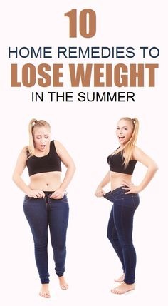 10 Home remedies to Lose Weight in the Summer..