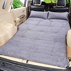 R&R Car outdoor travel bed Airbed mattress rear SUV car , grey suede 5cm