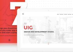 """Przejrzyj mój projekt w @Behance: """"UIG Studio""""…"""
