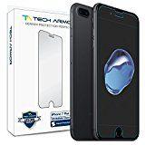 iPhone 7 Plus Glass Screen Protector, Tech Armor Premium Ballistic Glass Apple iPhone 7 Plus (5.5-inch) Screen Protectors [2]