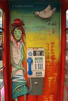 Cabine telefone - Porto - Portugal