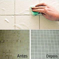 Esta receita promete facilitar sua vida se você a desenvolver corretamente. A maioria de nós não gosta de limpar os azulejos da cozinha e do banheiro. É um