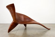 Wendell Castle | Prophet, 2008.  Stained cherry with oil finish