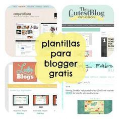 ¿Buscas plantillas gratis para blogger? No pierdas más tiempo, yo te digo cuáles son los mejores sitios para descargarlas GRATIS ▻ ¡Click AQUÍ :)