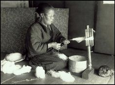 TWISTING AND TWINING -- The Art of TSUMUGI -- Ca.1915-23.  T. Enami