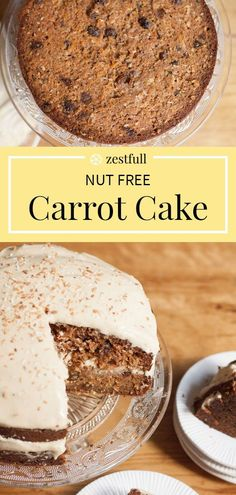 Cake Recipes, Vegan Recipes, Moist Cakes, Cream Cheese Frosting, Egg Free, Carrot Cake, Allergies, Carrots, Dairy Free