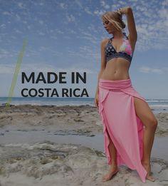Colecciones únicas, vibrantes y coloridas de vestidos de baño y salidas de playa hechas en Costa Rica por Sylvia Santacruz.                                                                                                                                                                                 Más