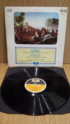 GRIEG / FALLA. ORQUESTA SINFÓNICA DE VIENA. LP / MARFER - 1976 / MBC. ***/***