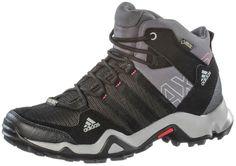#adidas #AX2 #Mid #GTX #Wanderschuhe #Damen #schwarz/grau -