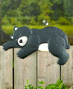 Nap Time Animal Fence Toppers