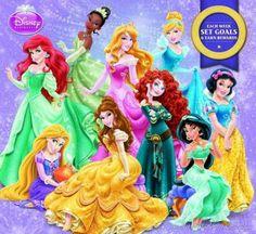 MegaCalendars-Mead-2014-12-Month-Wall-Calendar-Disney-Princess-9781423820543-Front (90 pieces)