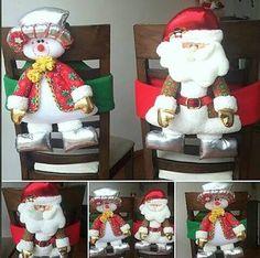 Resultado de imagen para navidad manualidades cubre sillas pinterest Christmas Projects, Christmas Holidays, Merry Christmas, Xmas, Hobby Lobby, Altar, Ideas Para, Bowser, Character Art