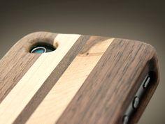 나무 아이폰 케이스   (Wooden case for iPhone)