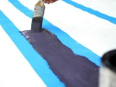 Hand-Paint Deck Area Rug