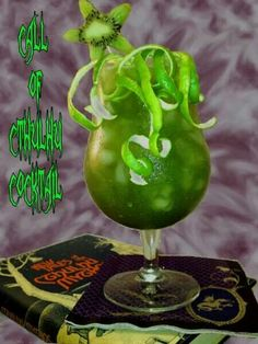 Cthulhu cocktail  looks bloody delicious