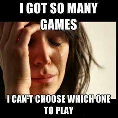 Gamer problems