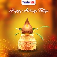 Sanskrit Word Akshaya means one that never diminishes. May this day of Akshaya Tritya bring you good luck and success which never diminishes. Sanskrit Words, Special Day, Bring It On, Success, Christmas Ornaments, Holiday Decor, Happy, Christmas Jewelry, Ser Feliz