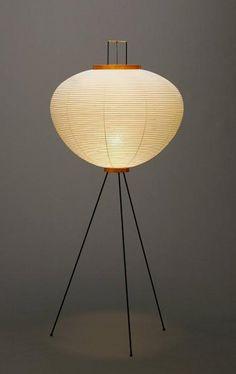 New Isamu Noguchi AKARI 10A Stand Light, Lamp Japan in Home & Garden, Lamps, Lighting & Ceiling Fans, Lamps | eBay