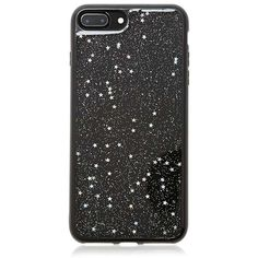 Forever21 Glitter Phone Case for iPhone 7 Plus (135 ARS) ❤ liked on Polyvore featuring accessories, tech accessories and forever 21