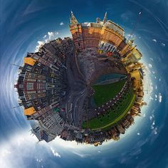 Polar panoramas, also known as stereographic projections or 'little planets', are spectacular images that are created out of panoramic photos.
