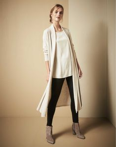 The Duster Cardigan: Essential + versatile Sustainable Fashion, Sustainable Style, Eileen Fisher, Fashion Outfits, Fashion Trends, Fashion Ideas, Work Wear, What To Wear, Autumn Fashion
