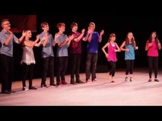 Second Grade Scarf Routine to Primo Vere Ecce Gratum by Carl Orff - YouTube