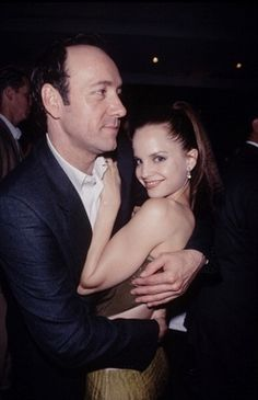 Kevin Spacey and Mena Suvari.