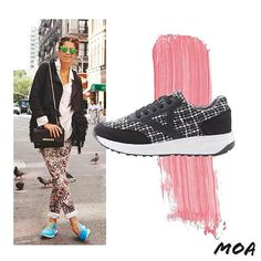 Is your #shoegame #onfleek? @manrepeller can do no wrong. Perfect your #streetstyle look with MOA's #basketrunners! #MoaMoi #MoaME