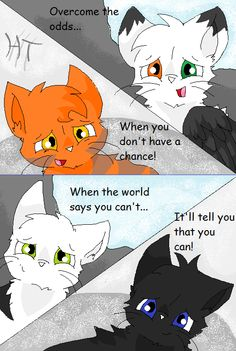 BIG pictures of Ravenpaw, from warriors | The Unforgiven. A comic by me! Epilogue up! BLOOD WARNING! FINISHED ...