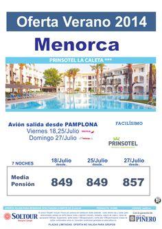 Menorca - Oferta Hotel Prinsotel La Caleta, salidas 18, 25 y 27 Julio desde Pamplona ultimo minuto - http://zocotours.com/menorca-oferta-hotel-prinsotel-la-caleta-salidas-18-25-y-27-julio-desde-pamplona-ultimo-minuto-2/