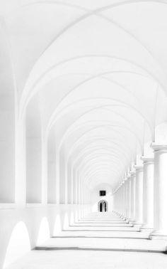 White architecture #white #design #architecture
