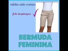 COSTURANDO BERMUDA FEMININA - YouTube