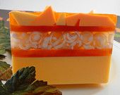 Soap - Pumpkin Spice Soap Made with Goats Milk - Glycerin Soap - Handcrafted Soap