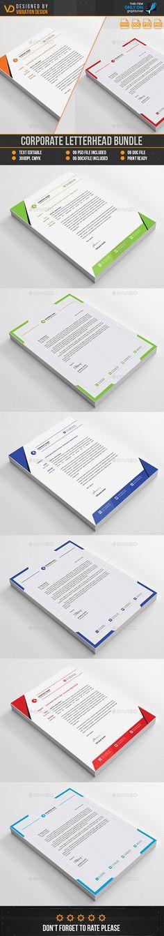 Letterhead Cleanses, Template and Entrepreneur - corporate letterhead template