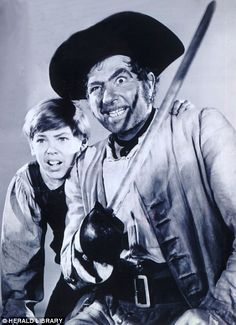 Classic pirate: Robert Newton gave a standout performance as Long John Silver in Treasure Island Robert Newton, Long John Silver, Robert Louis Stevenson, Film Base, Treasure Island, Video Film, Pirates, Actors & Actresses, Photographs