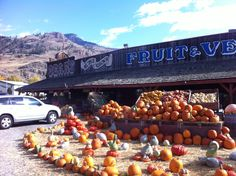 Places I've Been...Bears Fruit Stand, Keremeos, BC Fruit Stands, British Columbia, Places Ive Been, Bears, Pumpkin, Canada, Adventure, Travel, Outdoor
