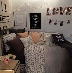 20 chic decor items to instantly spice up your dorm room - Cute Teenage Girl Room Ideas