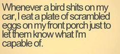 bird shit