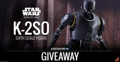 Sideshow - Win a Hot Toys K-2SO™ Sixth Scale Figure - http://sweepstakesden.com/sideshow-win-a-hot-toys-k-2so%c2%99-sixth-scale-figure/