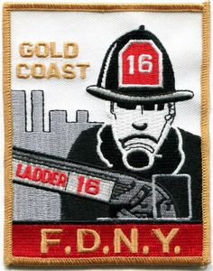 NY - New York City FDNY Ladder 16 patch